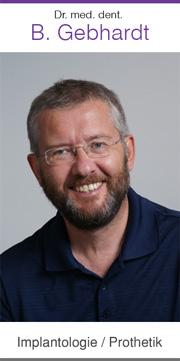 Dr. med. dent. B. Gebhardt